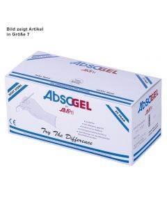 Absogel Latex U.-Handschuhe